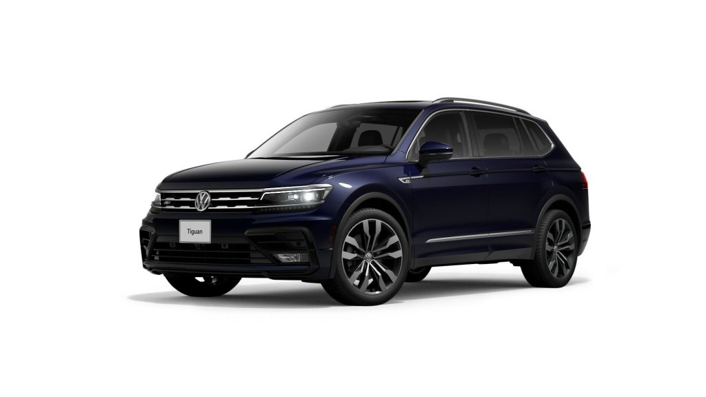 2021 Tiguan atlantic blue