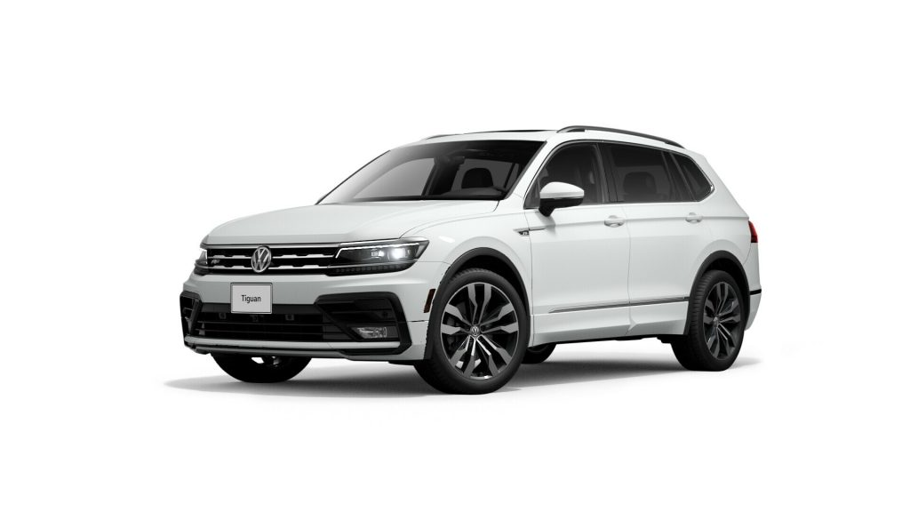 2021 Tiguan pure white
