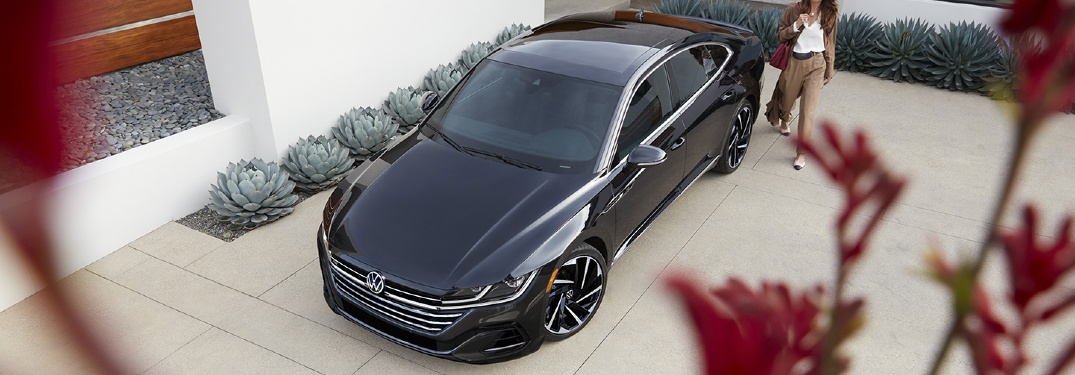 2021 Arteon parked in a driveway