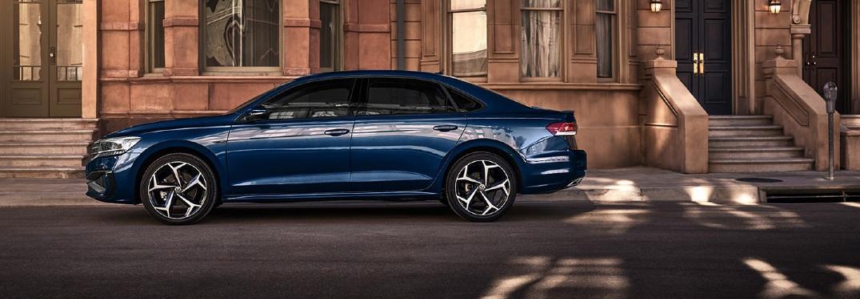 2021 VW Passat side profile