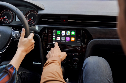 2021 Passat Apple CarPlay showcase