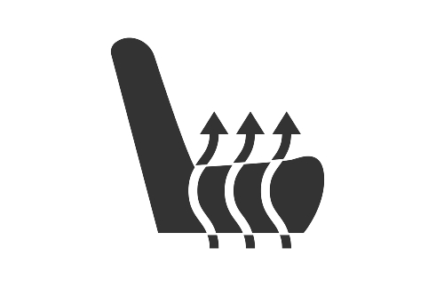 heated seats icon