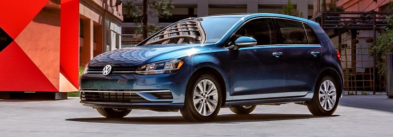 2021 Volkswagen Golf parked