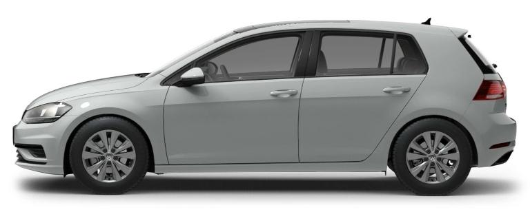 2021 Volkswagen Golf Pure White