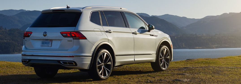 2022 Volkswagen Tiguan back end