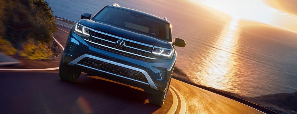 2021 Volkswagen Atlas on a highway