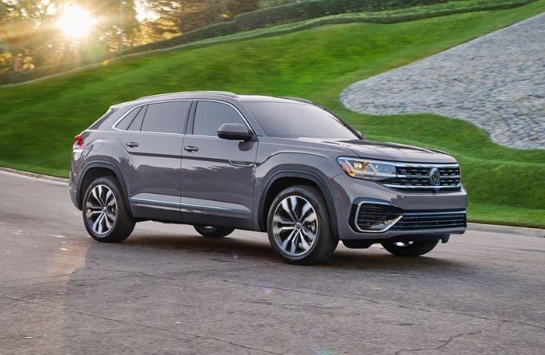 2021 Volkswagen Atlas Cross Sport on a road