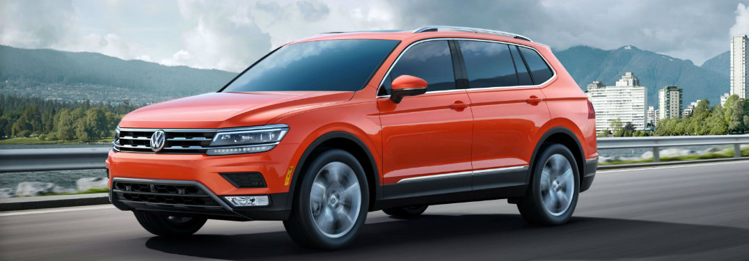 Top 3 things to know about the 2018 VW Tiguan Allspace