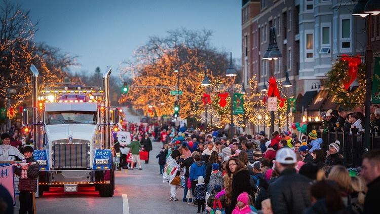 2017 Holiday in the Park and Parade