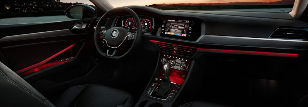 Tiguan Gte 2018 >> Which VW vehicles are available with color-changing ambient lighting?
