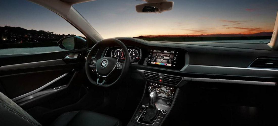 2019 VW Jetta Interior Ambient Lighting Colors