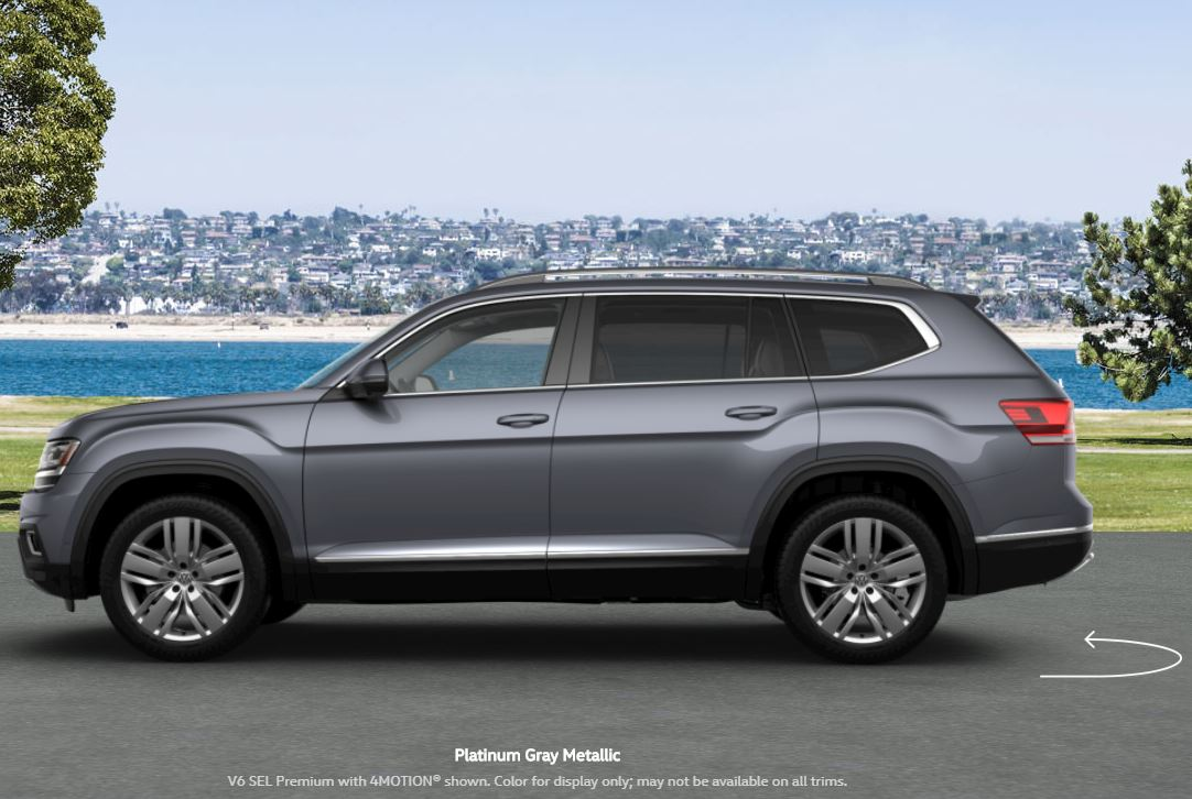 What Colors are Available for the 2019 VW Atlas? - Donaldsons Volkswagen