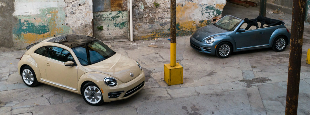 2019 VW Beetle and Beetle Convertible Final Edition