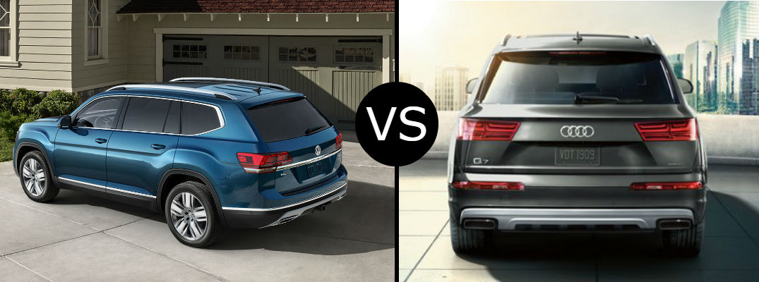 Is the VW Atlas the same as the Audi Q7?