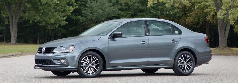 2018 Volkswagen Jetta exterior in grey side profile