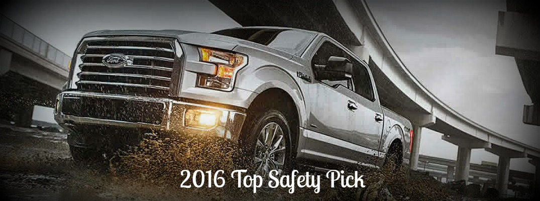 2016 Ford F-150 safety specifications