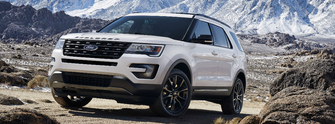 Ford Explorer XLT Sport Appearance Package - 2016 ford vehicle lineup