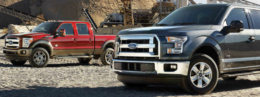 Ford F-150 and Super Duty trucks have earned recognition.