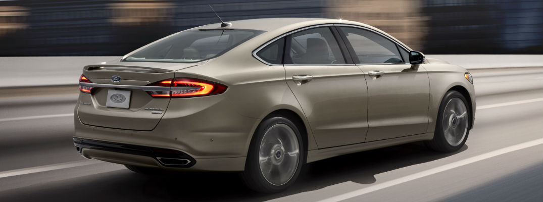 2017 Ford Fusion Adaptive Cruise Control System
