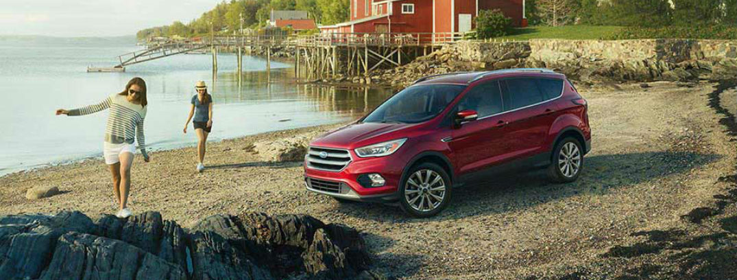 2016 ford escape exterior front red