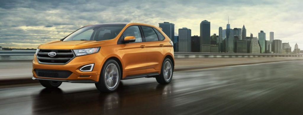New 2016 Ford Edge interior specs and features