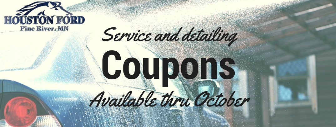 Service and detailing coupons houston ford