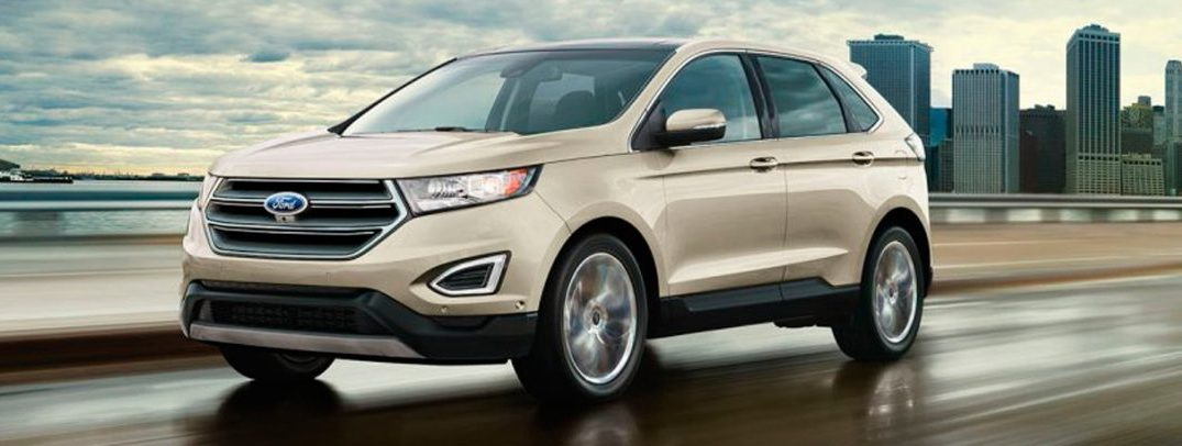 2017 Ford Edge exterior front