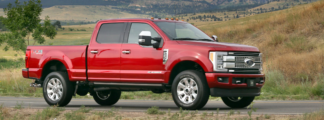 what is new for the 2017 Ford Super Duty