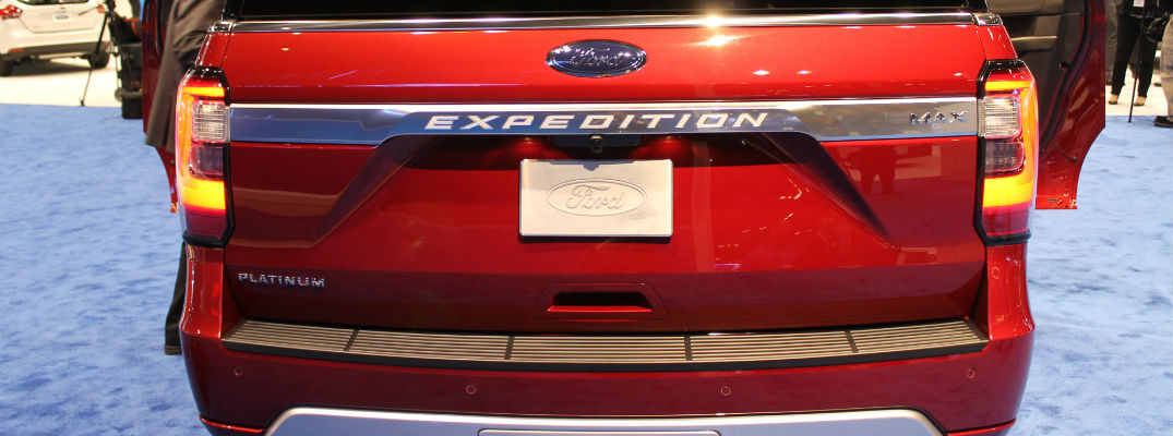 Release date for the 2018 Ford Expedition and Chicago Auto Show photos