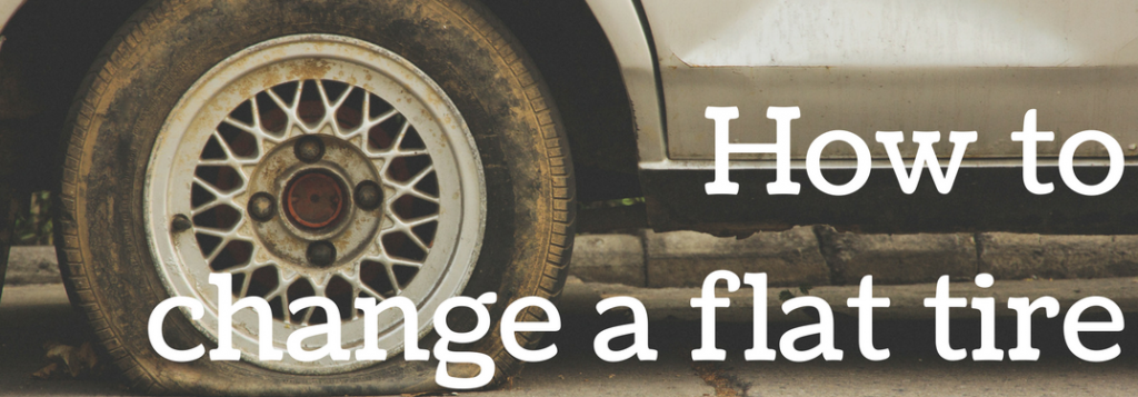 We have tips for changing a flat tire - Kimber Creek Ford