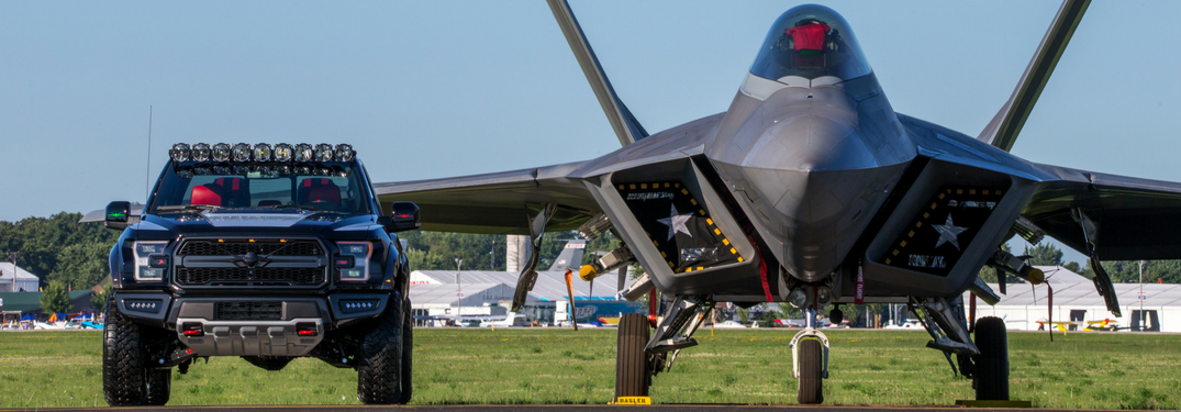 What does an air force fighter jet have in common with a Ford truck?