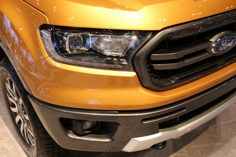 2019 Ford Ranger Fx4 Offroad Cas2018 Headlight Close Updf
