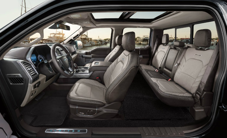 Ford Raptor Interior >> 2019 Ford F 150 Limited New Features Including Raptor Engine