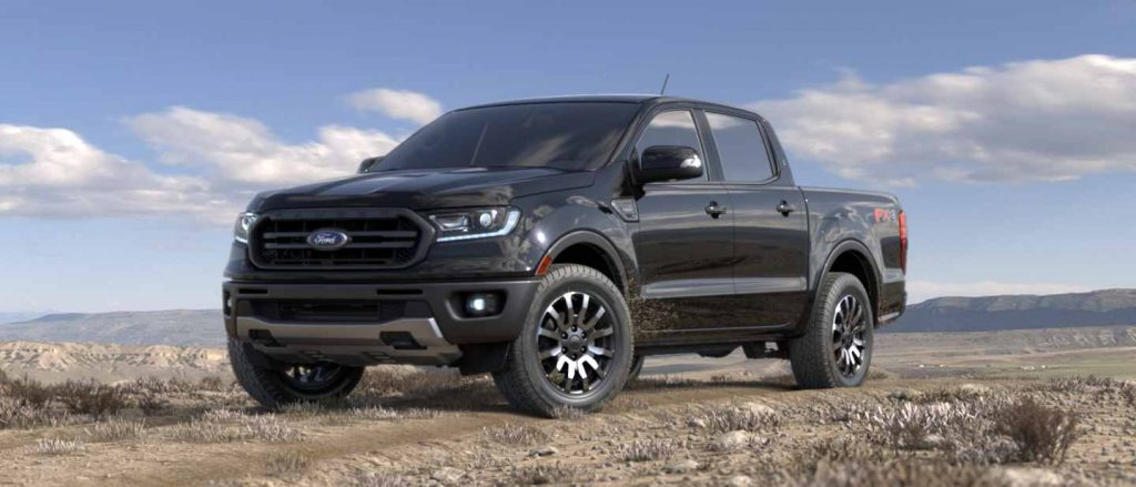 2019 Ford Ranger in Absolute Black