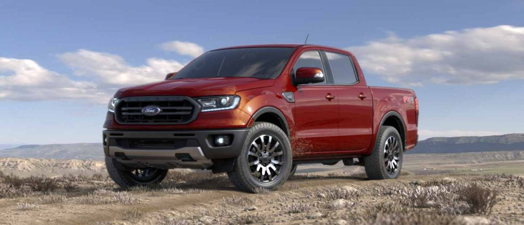 2019 Ford Ranger in Hot Pepper Red