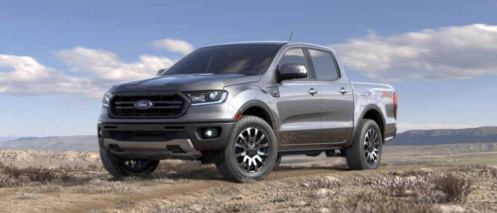 2019 Ford Ranger in Ingot Silver