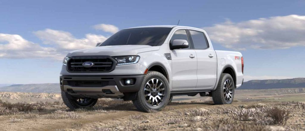 2019 Ford Ranger in Oxford White