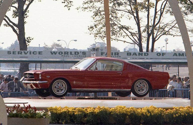 1964-NY-Worlds-Fair-Mustang-B_o - Kimber Creek Ford