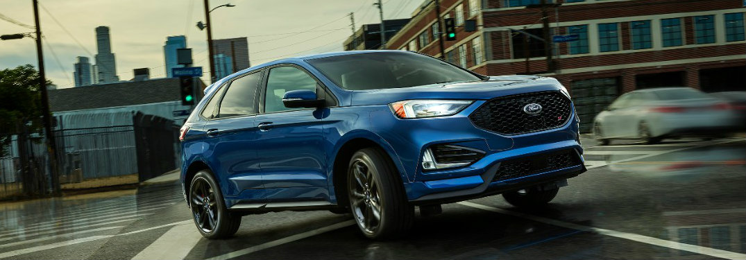 2019 Ford Edge with all-wheel drive