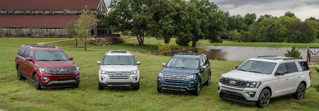 2019 Ford Expedition and Escape Special Editions