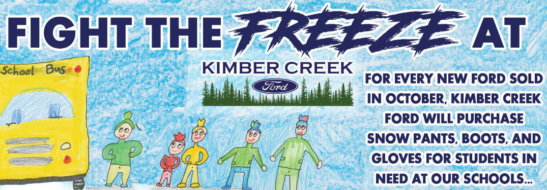 Fight the Freeze at Kimber Creek Ford in Pine River