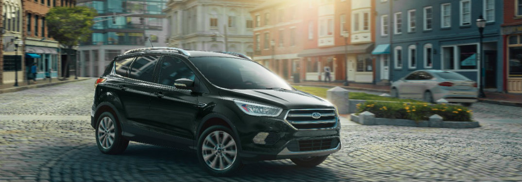 2019 Ford Escape parked dramatically