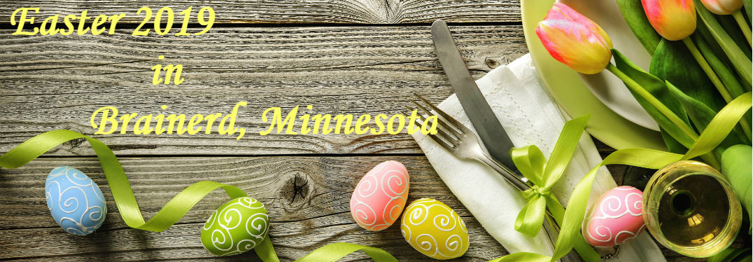What are the best Easter 2019 events in the Brainerd MN area?