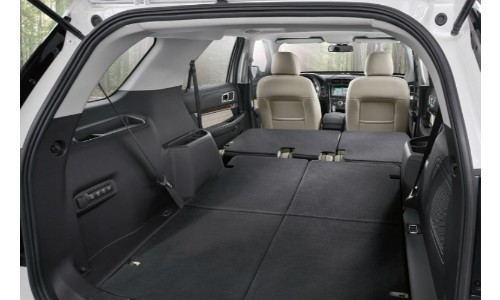 2019 Ford Explorer Interior To Show Cargo Space All Seats