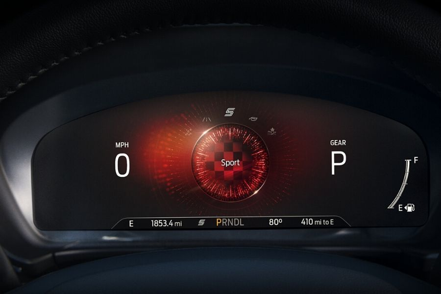Sport Mode on 2020 Ford Escape