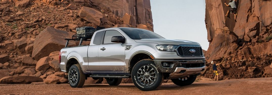 How many 2020 Ford Ranger grades are there?