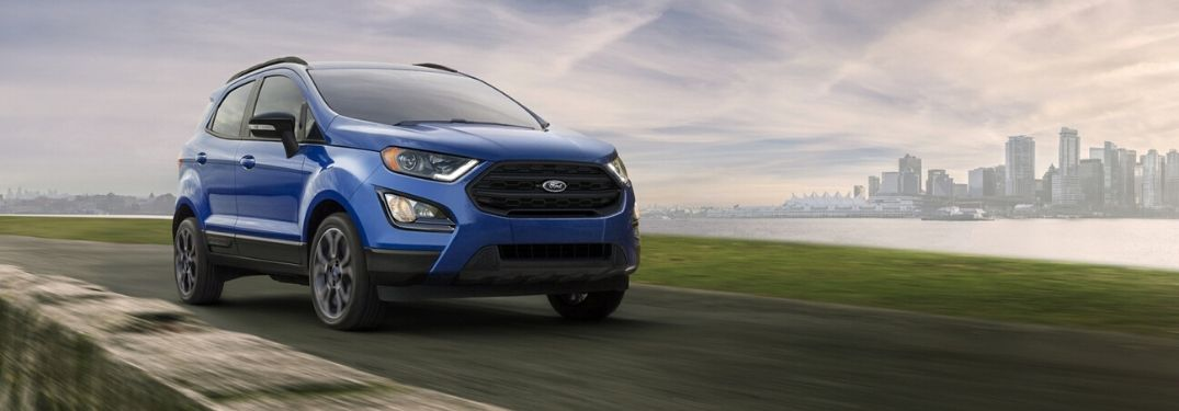 Check out the performance capabilities of the 2020 Ford EcoSport!