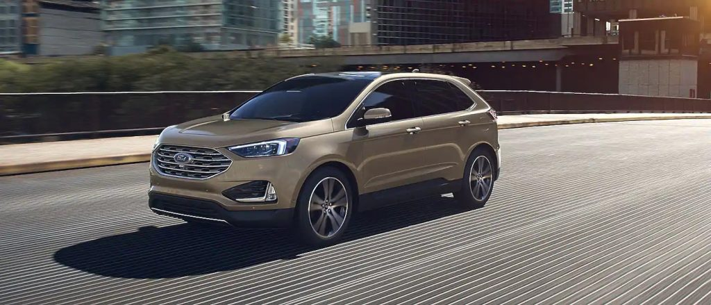 2020 Ford Edge Desert Gold Exterior Color