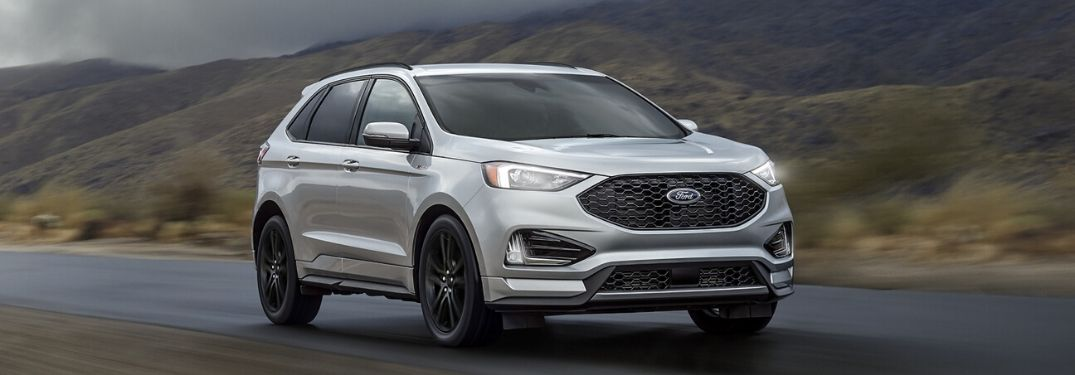 2020 Ford Edge on road
