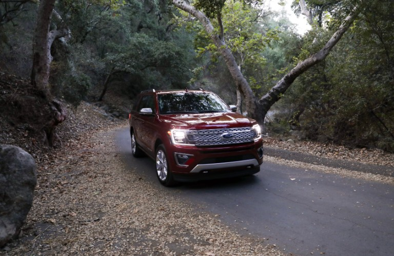 2018 Ford Expedition on road